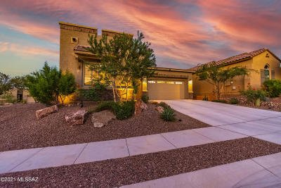 Oro Valley Single Family Home Active Contingent: 13242 N Stonecrop Lane