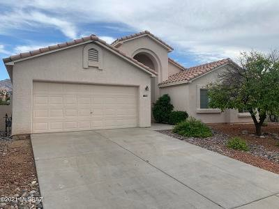 Tucson Single Family Home Active Contingent: 11386 N Copper Spring Trail