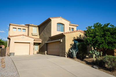 Tucson Single Family Home Active Contingent: 2439 S Aztec Point Trail