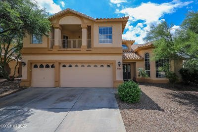 Oro Valley Single Family Home Active Contingent: 10736 N Torey Lane