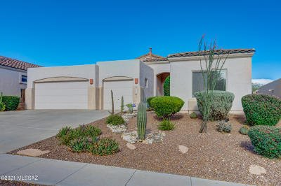 Tucson Single Family Home Active Contingent: 5246 N Fairway Heights Drive