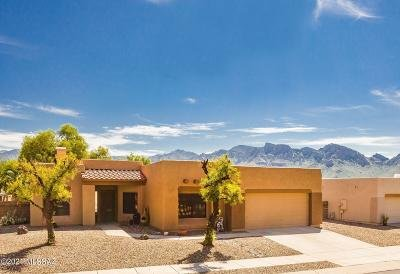 Tucson Single Family Home Active Contingent: 11682 N Pyramid Point Drive