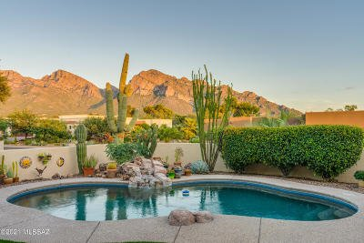 Oro Valley Single Family Home Active Contingent: 21 E Loch Lomond Place