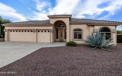 Tucson Single Family Home Active Contingent: 5168 N Louis River Way