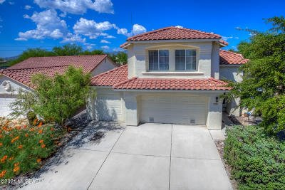 Tucson Single Family Home Active Contingent: 1372 W Valley Ridge Place