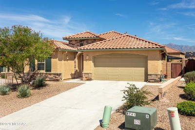 Tucson Single Family Home Active Contingent: 832 N Robb Hill Place