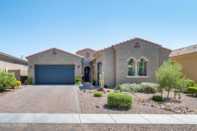 Oro Valley Single Family Home Active Contingent: 13212 N Downy Dalea Court