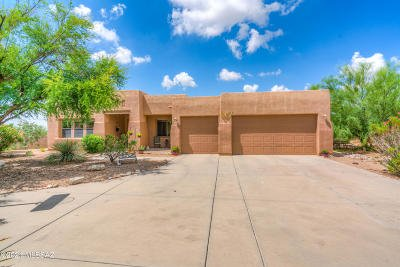 Oro Valley Single Family Home Active Contingent: 12009 N Washbed Drive