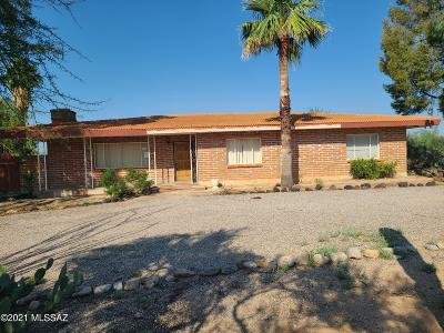 Tucson Single Family Home Active Contingent: 6931 N Firenze Drive