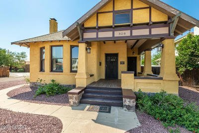 Tucson Single Family Home For Sale: 320 E Speedway Boulevard