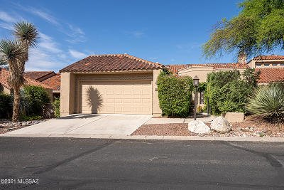 Tucson Townhouse For Sale: 6079 N Golden Eagle Drive