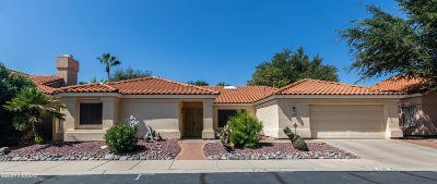 Tucson Single Family Home Active Contingent: 7418 E Riverbank Loop