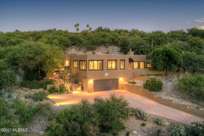 Tucson Single Family Home Active Contingent: 5250 N Post Trail