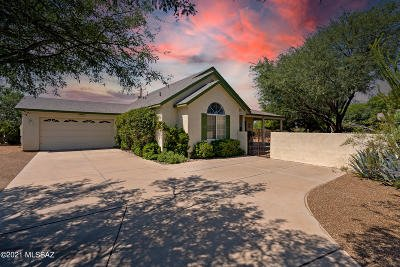Tucson Single Family Home Active Contingent: 2244 E Kleindale Road