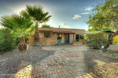 Tucson Single Family Home For Sale: 2001 N Forgeus Avenue