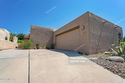 Tucson Single Family Home For Sale: 1677 W Chimayo Place