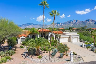 Oro Valley Single Family Home Active Contingent: 11100 N Guava Drive