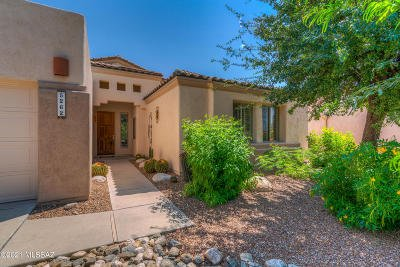 Tucson Single Family Home Active Contingent: 5262 N Fairway Heights Drive
