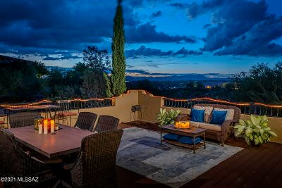 Oro Valley Single Family Home Active Contingent: 701 W Bangalor Drive