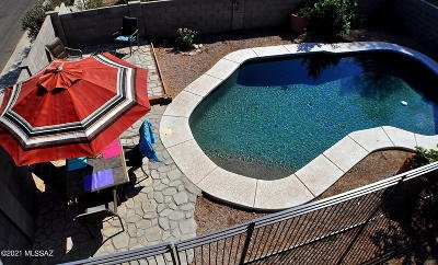 Tucson Single Family Home For Sale: 2111 W Sunset Surprise Court