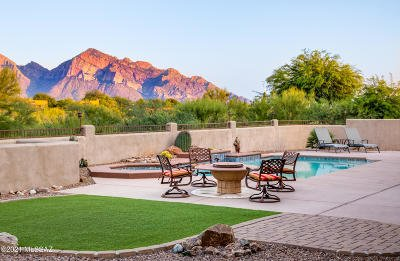 Oro Valley Single Family Home Active Contingent: 12328 N Reflection Ridge Drive