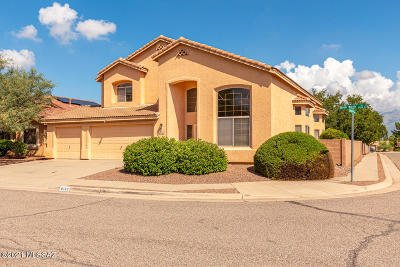 Tucson Single Family Home For Sale: 8183 Robb Wash Trail