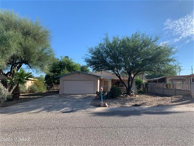 Tucson Single Family Home For Sale: 4625 S Paseo Don Carlos
