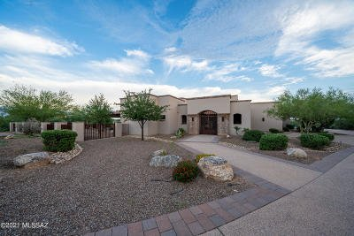 Tucson Single Family Home For Sale: 12871 Rusty Iron Trail