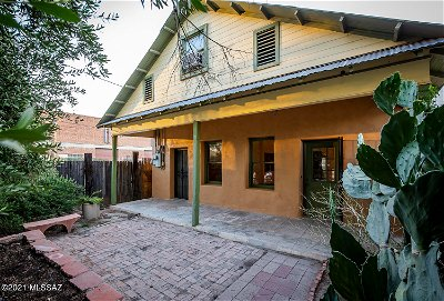 Tucson Single Family Home For Sale: 623 N 10th Avenue