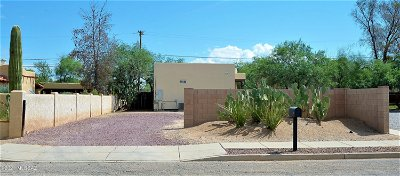 Tucson Single Family Home Active Contingent: 2700 N Orchard Avenue