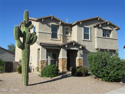 Tucson Single Family Home For Sale: 5670 W Copperhead Drive