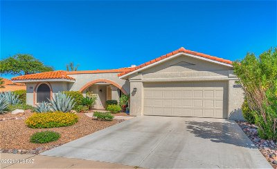 Oro Valley Single Family Home Active Contingent: 14435 N Glen Hollow Place