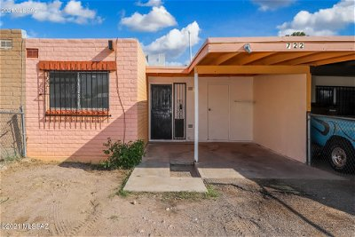 Tucson Townhouse For Sale: 722 W Drexel Road