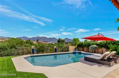 Tucson Single Family Home Active Contingent: 11816 N Copper Butte Drive