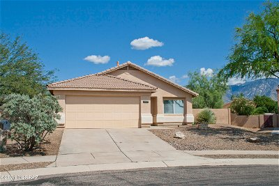 Oro Valley Single Family Home Active Contingent: 13272 N Mortar Pestle Court