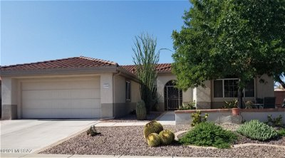 Oro Valley Single Family Home Active Contingent: 2244 E Buster Mountain Drive