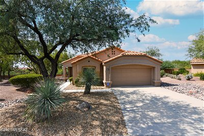 Oro Valley Single Family Home Active Contingent: 14049 N Desert Butte Drive