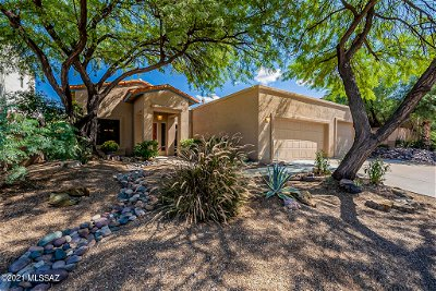 Tucson Single Family Home Active Contingent: 775 S Shadowtree Place