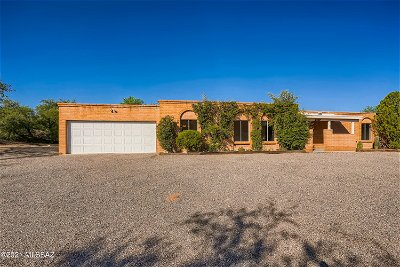 Tucson Single Family Home For Sale: 6649 N Amahl Circle