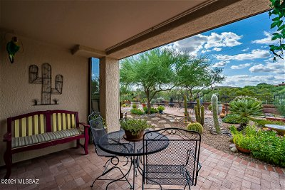 Oro Valley Single Family Home Active Contingent: 14441 N Alamo Canyon Drive