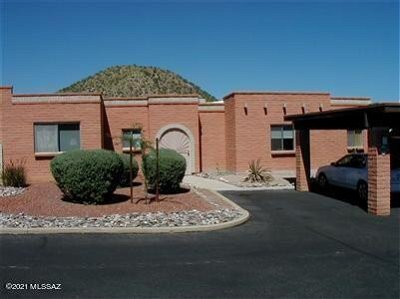 Tucson Townhouse Active Contingent: 2880 W Sheryl Drive