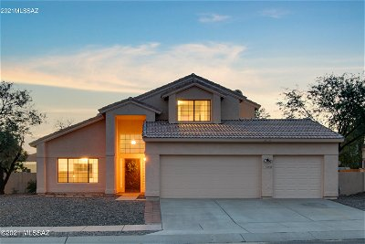 Oro Valley Single Family Home For Sale: 12533 N Lantern Way