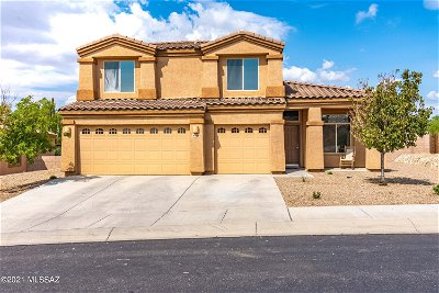 Tucson Single Family Home Active Contingent: 8279 N Willow Blossom Drive