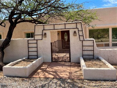 Tucson Single Family Home Active Contingent: 4910 N Shulemkeh Place