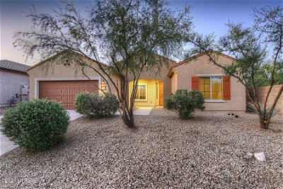 Tucson Single Family Home Active Contingent: 10714 E Red Sage Street