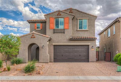Oro Valley Single Family Home Active Contingent: 13378 N Cottontop Court