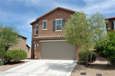 Tucson Single Family Home Active Contingent: 9589 S Miller Flats Drive