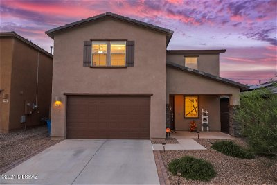 Sahuarita Single Family Home Active Contingent: 952 W Calle Tipoy