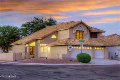 Tucson Single Family Home Active Contingent: 9501 E Lake Star Place