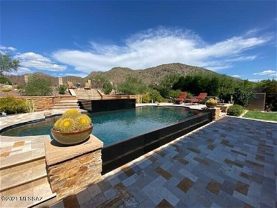 Marana Single Family Home Active Contingent: 14222 N Sunset Gallery Drive